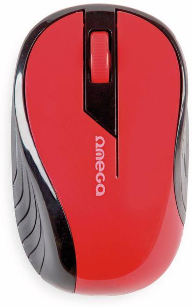 Funkmaus, OM415RB, rot/schwarz - Produktbild 3