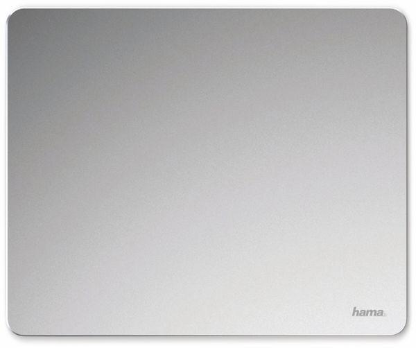 Aluminium-Mauspad HAMA 54781, silber