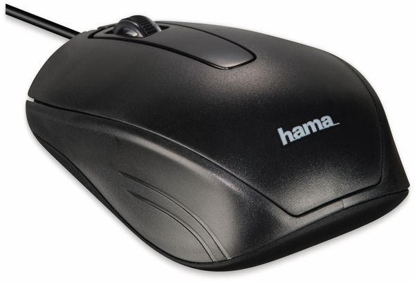 USB-Tastatur- und Maus-Set HAMA Cortino, schwarz - Produktbild 4