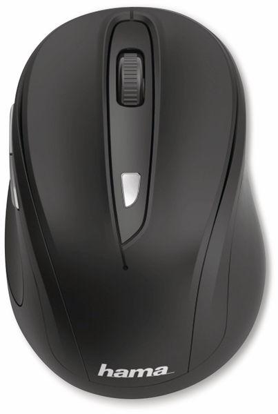 Funkmaus HAMA MW400, 6 Tasten, schwarz - Produktbild 2