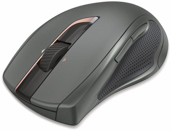 7-Tasten-Laserfunkmaus HAMA MW-900, Auto-dpi, schwarz