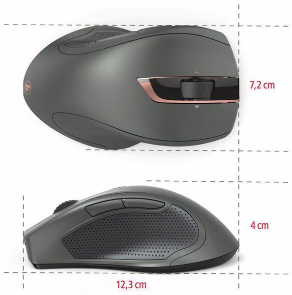 7-Tasten-Laserfunkmaus HAMA MW-900, Auto-dpi, schwarz - Produktbild 4