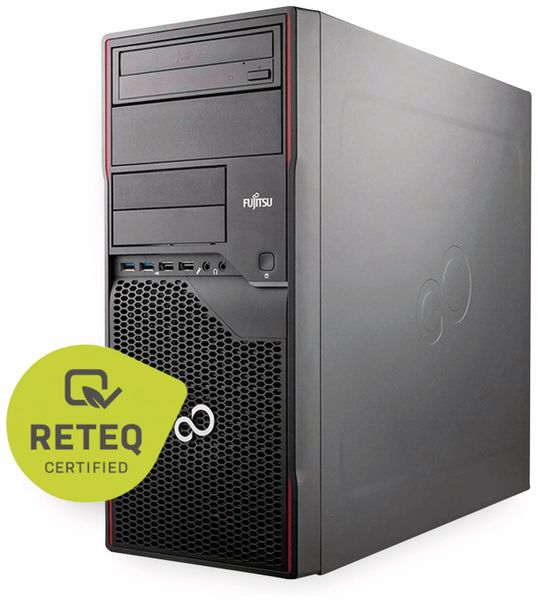 PC Esprimo P910 0-WATT, Intel i5, 16GB RAM, 240GB/2 TB SSD/HDD, Win10P, Refurbished