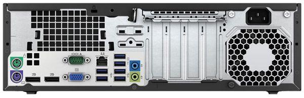 PC HP EliteDesk 800 G1 SFF, Intel i5, 8GB RAM, 500GB HDD, Win10P, Refurbished - Produktbild 2