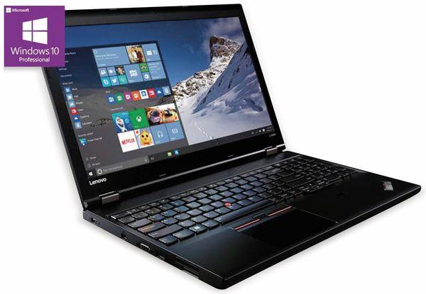 "Laptop LENOVO L560, 15,6"", Intel Celeron, 256GB SSD, Win10P, Refurbished"