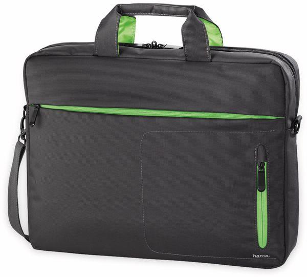 """Notebook-Tasche HAMA Marseille, 15,6"""", schwarz-grün"""