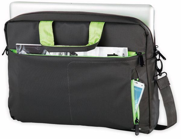 """Notebook-Tasche HAMA Marseille, 15,6"""", schwarz-grün - Produktbild 2"""