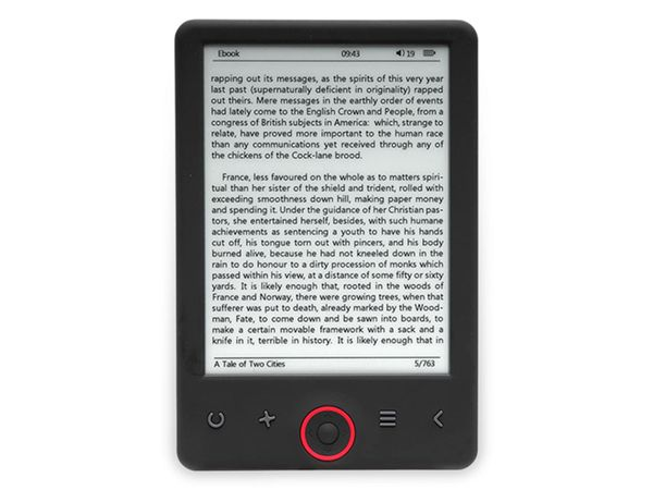 "E-Book Reader DENVER EBO-360l, 6"", 4GB, 1024x758"