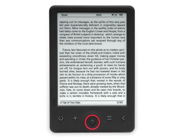 "E-Book Reader DENVER EBO-360l, 6"", 4GB, 1024x758 - Produktbild 2"