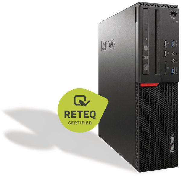 PC LENOVO ThinkCentre M800 10FX, i3, 256GB SSD, Win10P, Refurbished - Produktbild 2