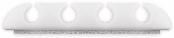 Kabel Management GOOBAY 4 Slots, weiß, 2er-Set - Produktbild 4