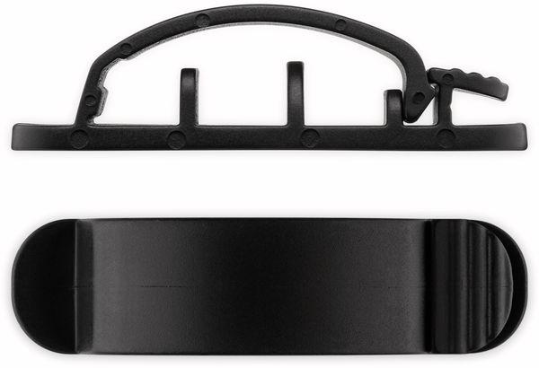 Kabel Management GOOBAY Clip Set, 6er-Set, schwarz - Produktbild 5