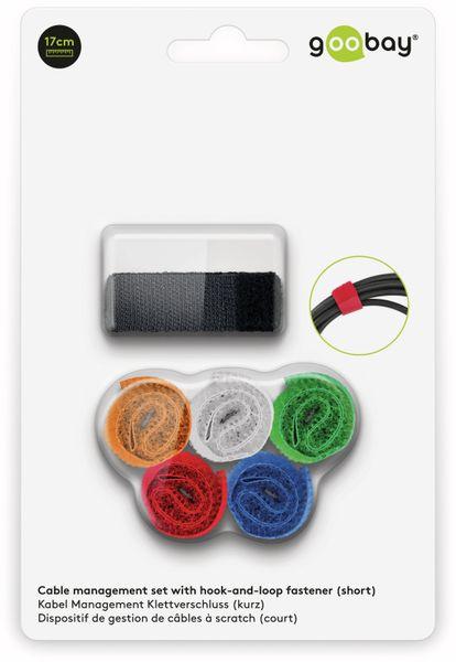 Kabel Management GOOBAY Klettverschluss, 170x20 mm, 6er-Set - Produktbild 4