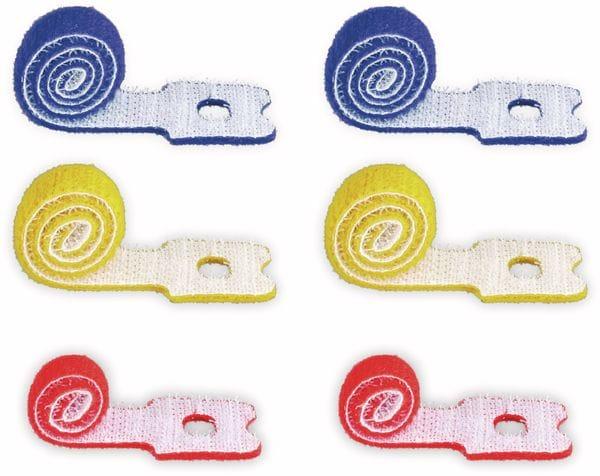 Kabel Management GOOBAY Klettverschluss, 6er-Set, mit Schlaufe - Produktbild 2
