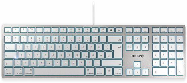 Tastatur CHERRY KC 6000 Slim MAC, silber