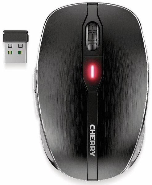 Maus CHERRY MW 8 Advanced, Ladefunktion, schwarz