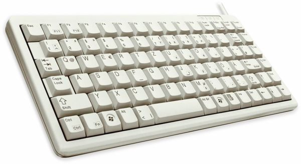 USB-Tastatur CHERRY G84-4100, grau - Produktbild 2