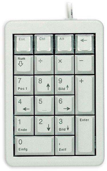 Keypad CHERRY G84-4700, USB, grau