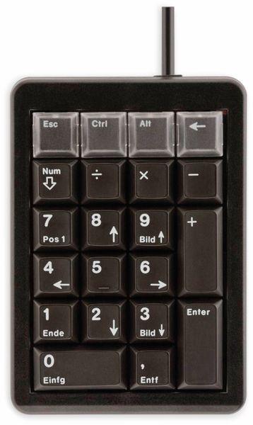 Keypad CHERRY G84-4700, USB, schwarz