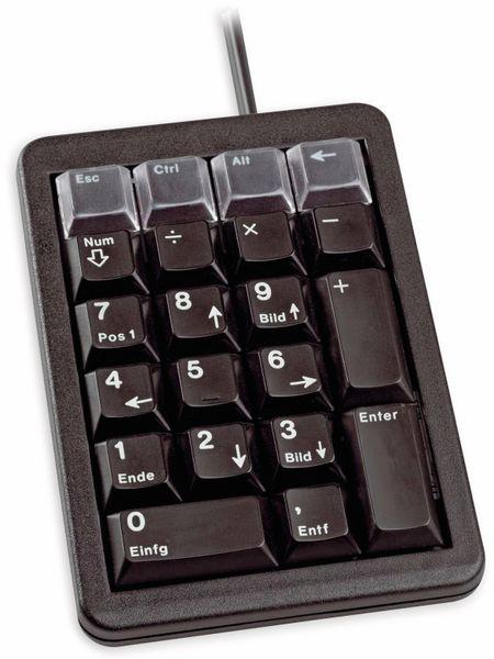 Keypad CHERRY G84-4700, USB, schwarz - Produktbild 2