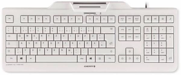 USB-Tastatur CHERRY KC 1000 SC-Z, grau