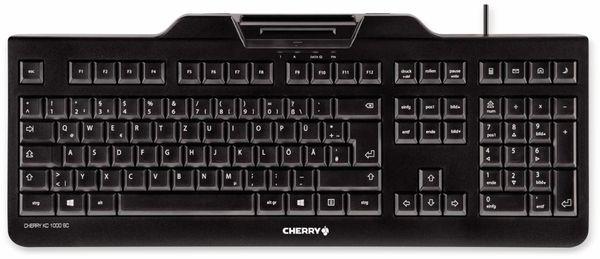 USB-Tastatur CHERRY KC 1000 SC-Z, schwarz
