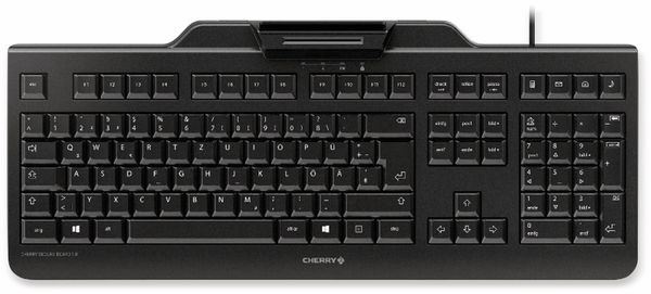 USB-Tastatur CHERRY Secure Board 1.0, schwarz