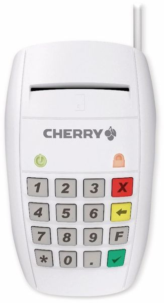 Smart-Terminal CHERRY ST-2100, weiß