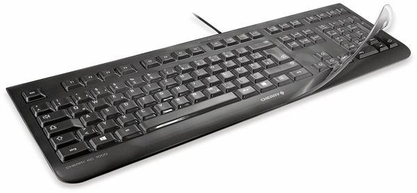 Tastatur-Schutzfolie CHERRY WetEx, für Modell G84-4100 (86 keys)