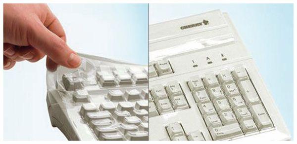 Tastatur-Schutzfolie CHERRY WetEx, für Modelle KC 1000 und DW 3000 - Produktbild 3