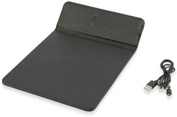 Maus-Pad GRUNDIG 12848, mit kabelloser Ladefunktion, schwarz