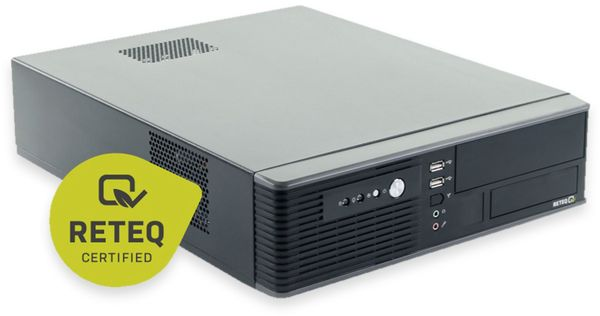 PC Hyundai Pentino H81 SFF, 500GB HDD, 8 GB RAM, Win10 Home, Refurbished