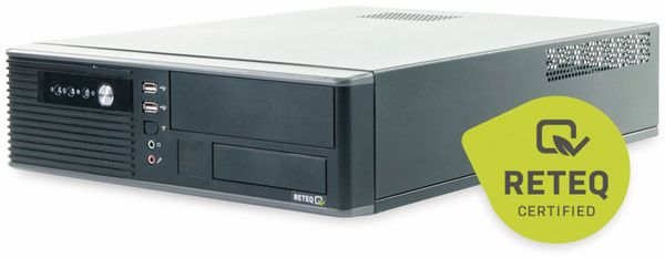 PC Hyundai Pentino H81 SFF, 500GB HDD, 8 GB RAM, Win10 Home, Refurbished - Produktbild 2