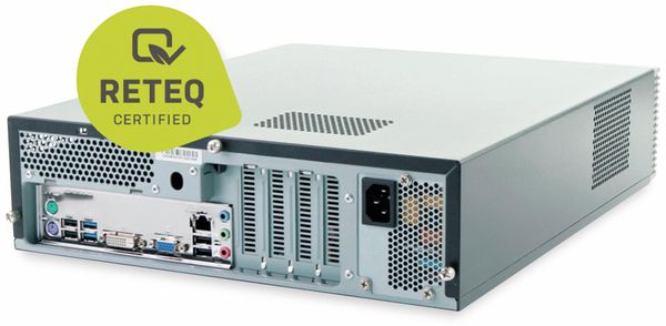 PC Hyundai Pentino H81 SFF, 500GB HDD, 8 GB RAM, Win10 Home, Refurbished - Produktbild 3