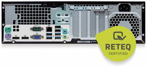 PC HP Prodesk 600 G1 SFF, Intel i3, 8GB RAM, 128GB SSD, Win10P - Produktbild 2