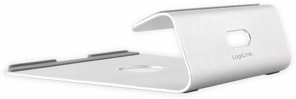 """Notebook-Ständer LOGILINK AA0103, 11-15"""", Aluminium - Produktbild 2"""
