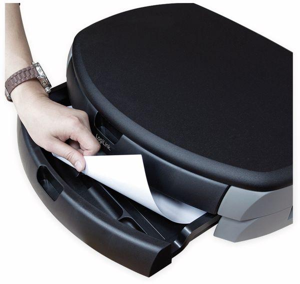 Monitorerhöhung LOGILINK BA0001, 450 mm, Schublade - Produktbild 2