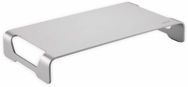 Monitorerhöhung LOGILINK BP0033, Aluminium, 400 mm