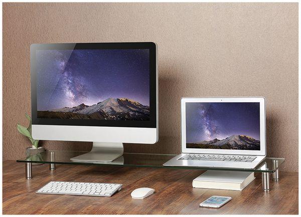 Monitorerhöhung LOGILINK BP0060, Glastop, 1000 mm - Produktbild 3