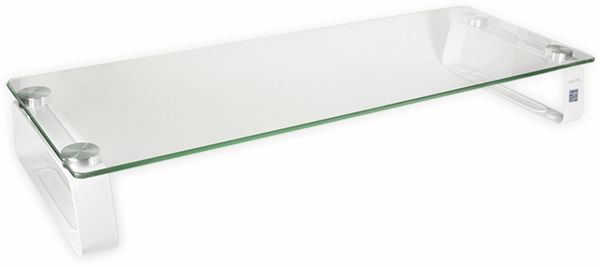 Monitorerhöhung LOGILINK BP0027, Glastop, 560 mm