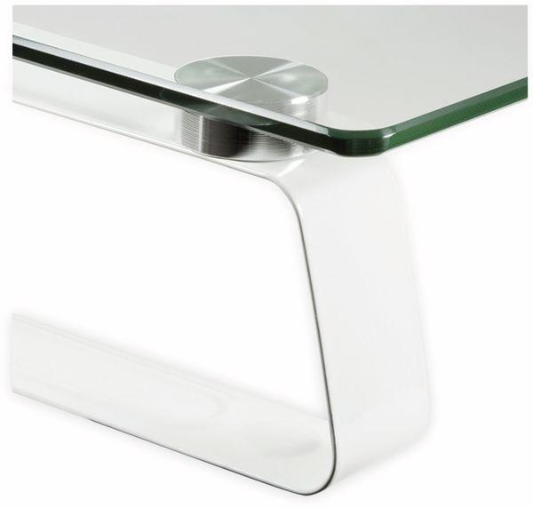 Monitorerhöhung LOGILINK BP0027, Glastop, 560 mm - Produktbild 2