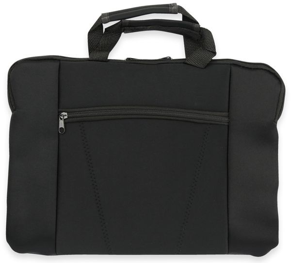 Neopren Laptop-Tasche 37x27 cm, Griffe schwarz