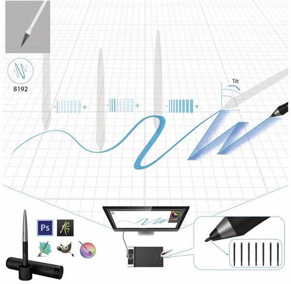 Grafiktablet XP-PEN Deco Pro Medium - Produktbild 3