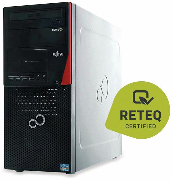 PC FUJITSU Esprimo P910, Intel i5, 4GB RAM, 500 GB HDD, Win10H, Refurbished - Produktbild 2