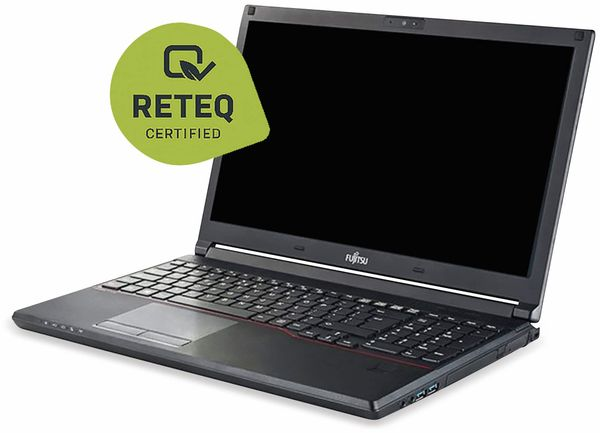 "Notebook FUJITSU Lifebook E556, 15,6"", LTE, i5, 256GB SSD, Win10P, Refurbished"