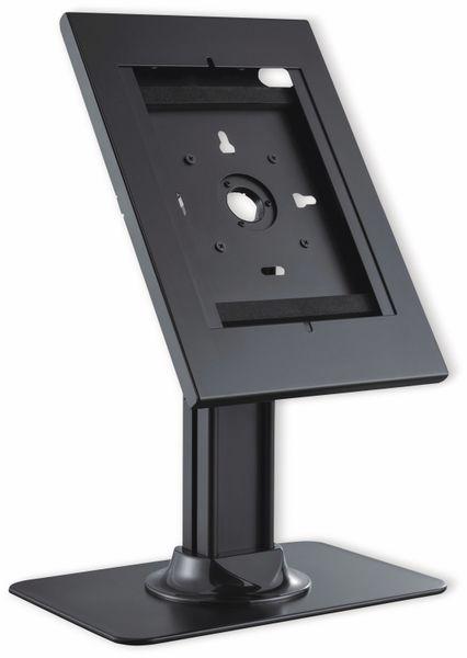 Tablet-Halterung PUREMOUNTS PDS-5910, mit Standfuß, Abschließbar, schwarz