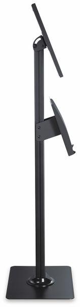 Tablet-Halterung PUREMOUNTS PDS-5920, mit Standfuß und Prospekthalter, schwarz - Produktbild 5