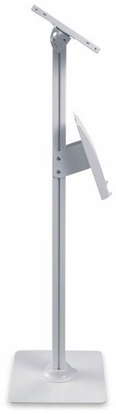 Tablet-Halterung PUREMOUNTS PDS-5921, mit Standfuß und Prospekthalter, weiß - Produktbild 5