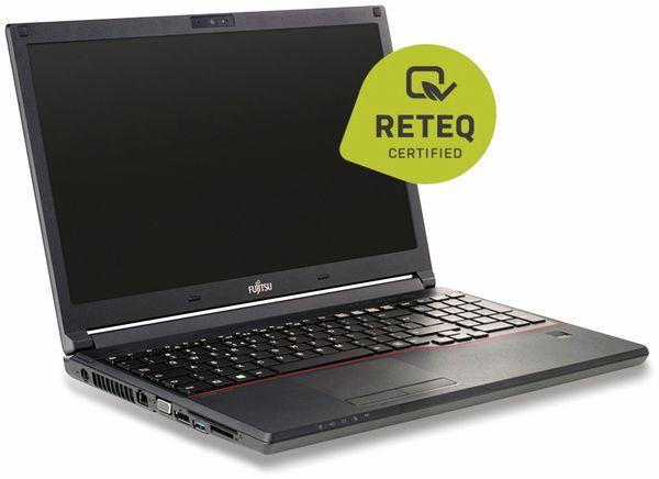 "Notebook FUJITSU Lifebook E554, 15,6"", Intel i5, Win10P, Refurbished - Produktbild 2"