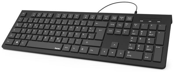 USB-Tastatur HAMA KC-200, schwarz